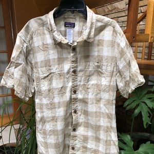 Patagonia Men's Medium Burton Up Checkered Hemp